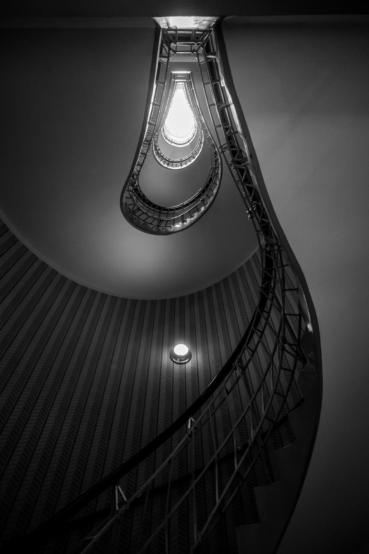 Stiegenhaus im Haus zur Schwarzen Muttergottes