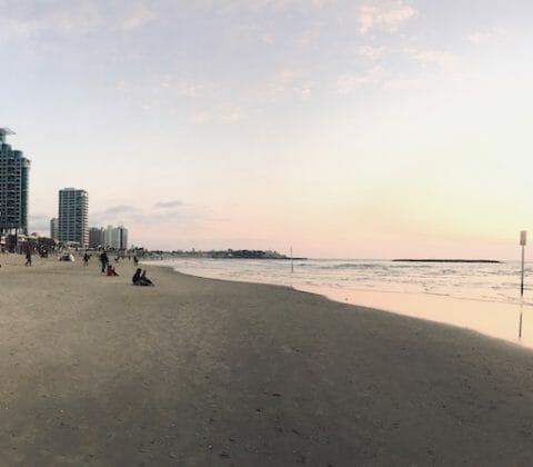Tel Aviv am Strand