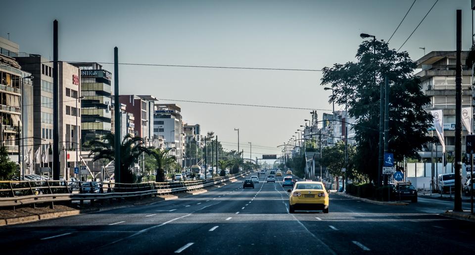 Stadtautobahn Athen