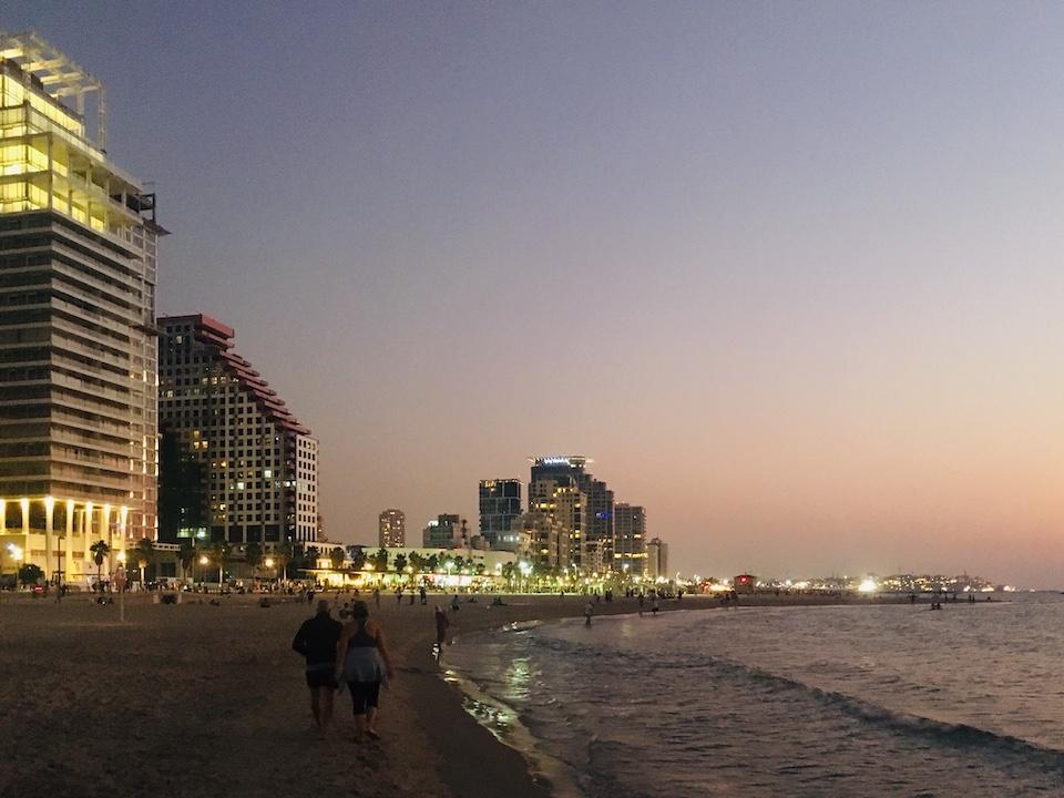 Abendstimmung in Tel Aviv