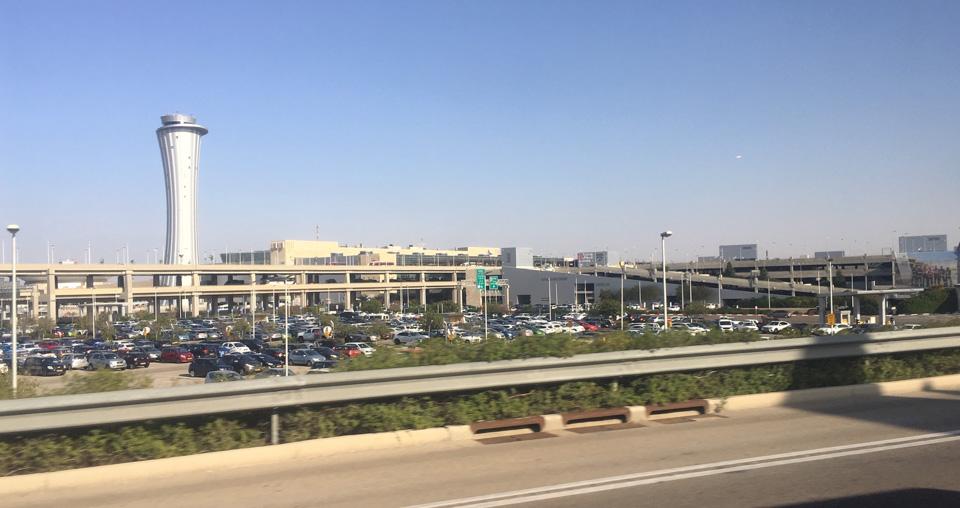 Auf dem Weg zum Terminal 1
