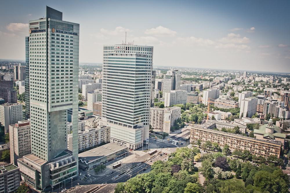 Hotel Intercontinental & Bank Austria Gebäude